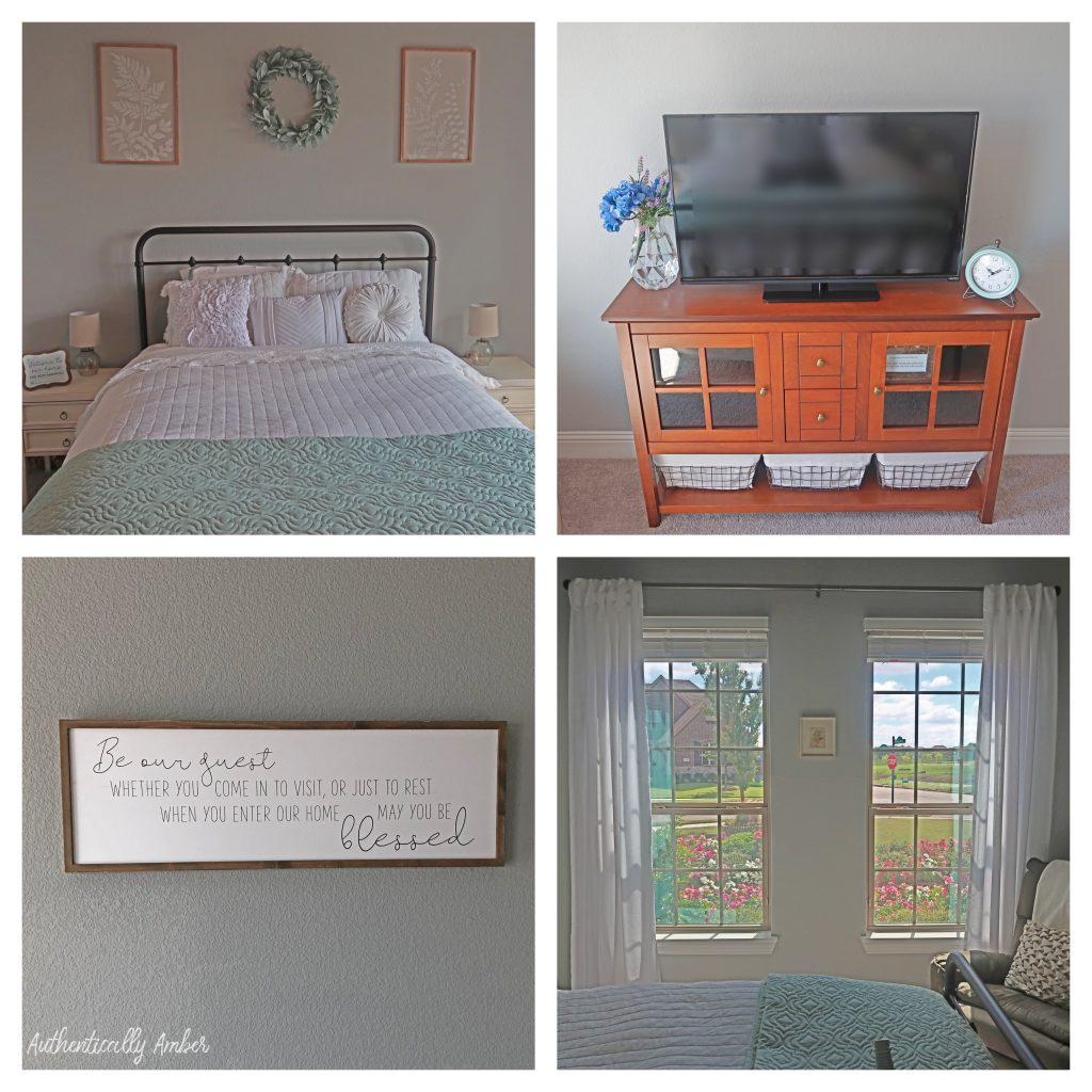 authentically amber diy guest room