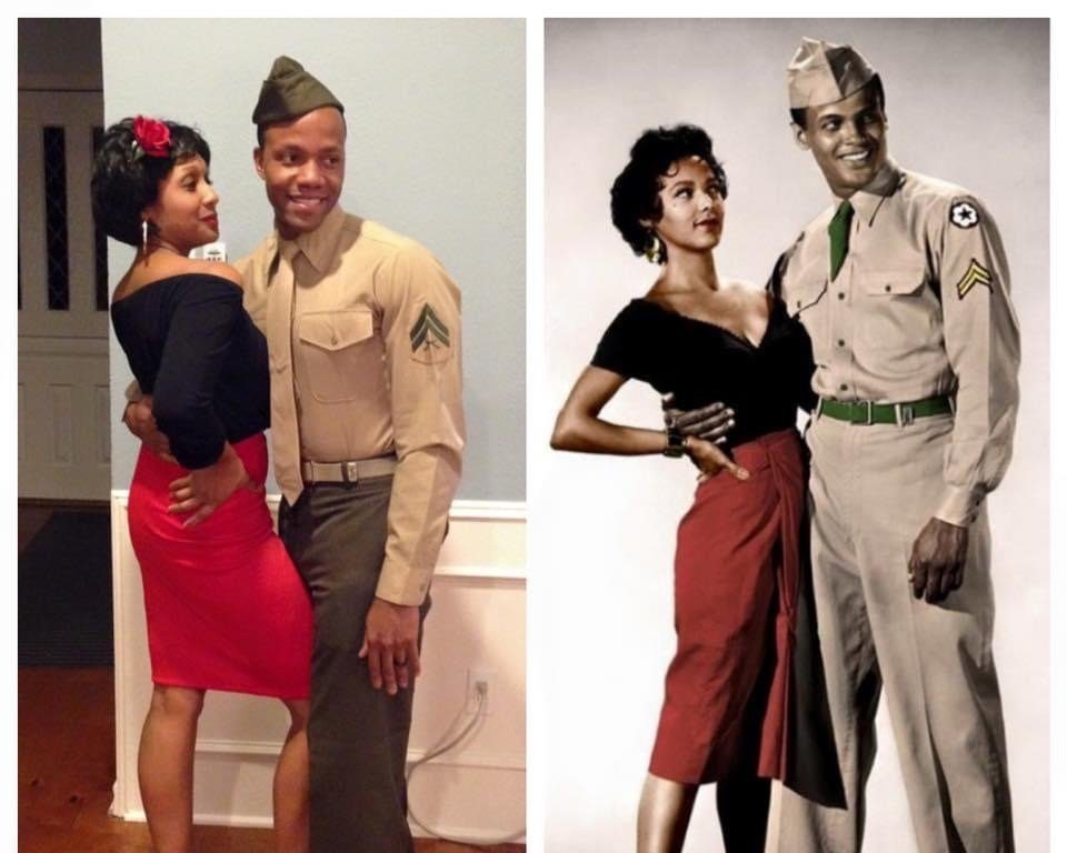 authentically amber diy halloween couples costumes carmen jones and joe