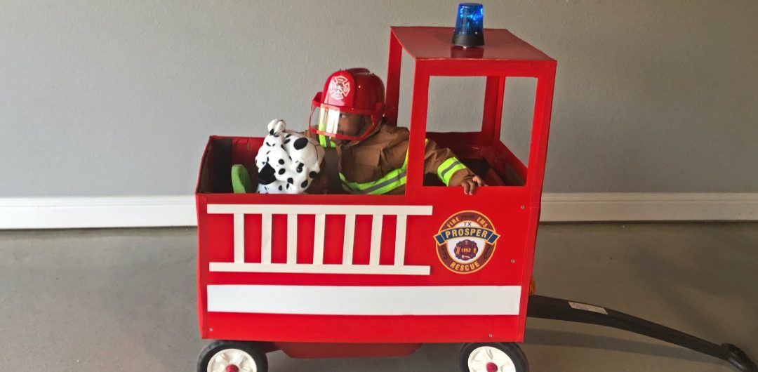 authentically amber diy halloween family costumes toddler parent firefighters