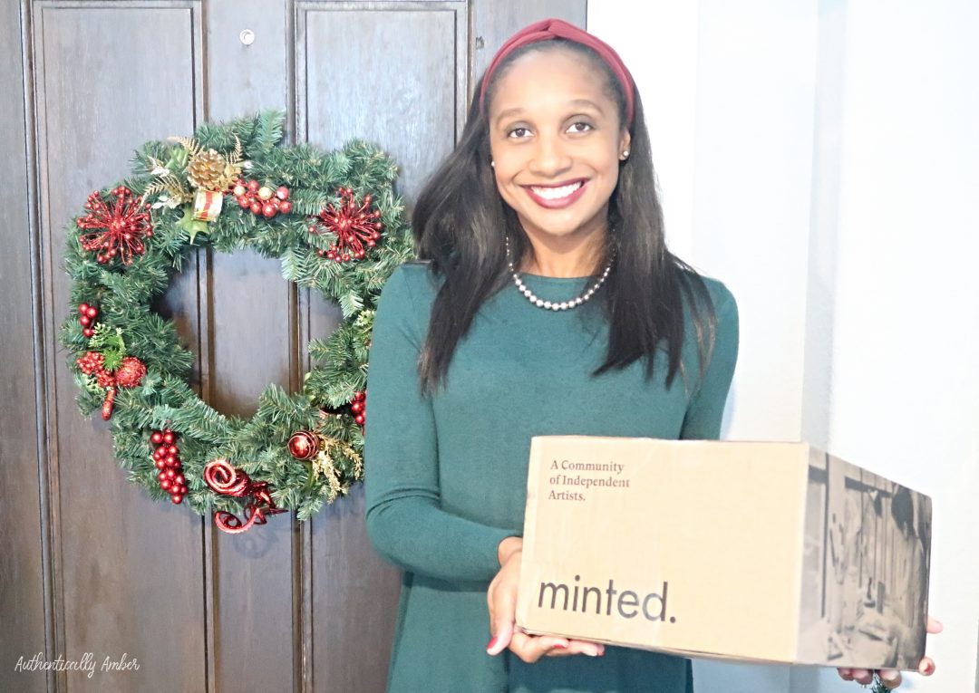 authentically amber minted christmas cards review